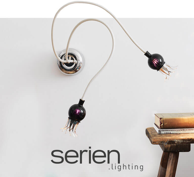 Lámparas diseño serien lighting