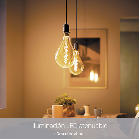 Iluminción LED atenuable
