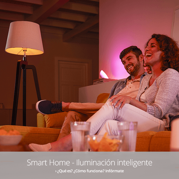 Smart Home - Iluminación inteligente