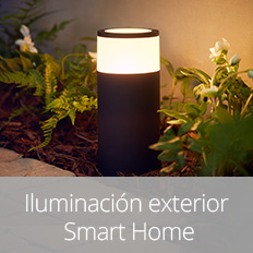 Iluminación exterior Smart Home