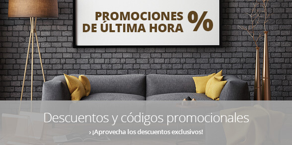 Promociones disponibles en Lampara.es
